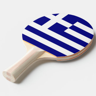Ping pong paddle with Flag of Greece