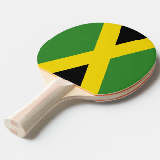 Ping pong paddle with Flag of Jamaica