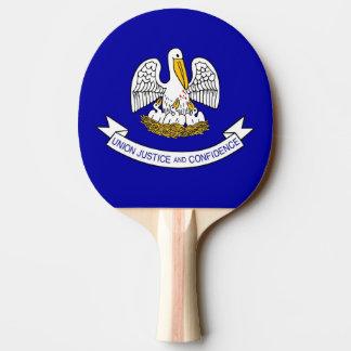 Ping pong paddle with Flag of Louisiana, USA