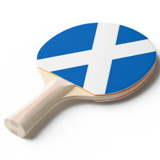 Ping pong paddle with Flag of Scotland