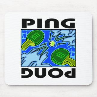Ping Pong Paddles and Ball Table Tennis Mousepad