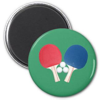 Ping Pong Paddles and Balls Magnets