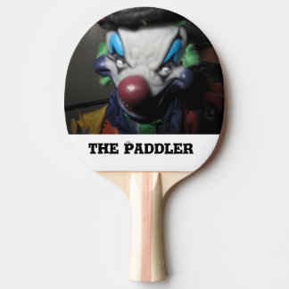 Ping Pong Paddles Custom Clown Design