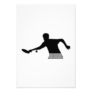 Ping Pong player Personalized Invitation
