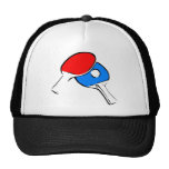 Ping Pong Red and Blue Hat