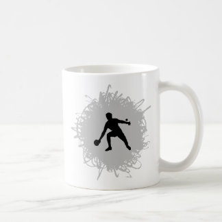 Ping Pong Scribble Style Coffee Mugs