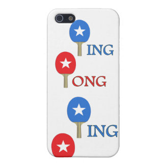 Ping Pong Star iPhone 5 Cover
