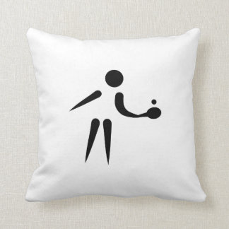 Ping Pong table tennis player Cushion