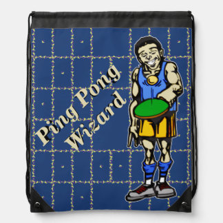 Ping Pong Wizard Backpack
