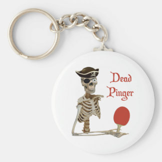 Pinger Pirate Ping Pong Keychains