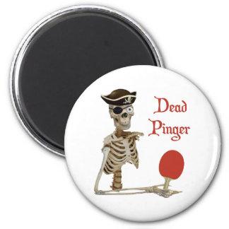 Pinger Pirate Ping Pong Magnet