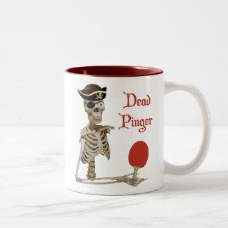 Pinger Pirate Ping Pong Two-Tone Coffee Mug