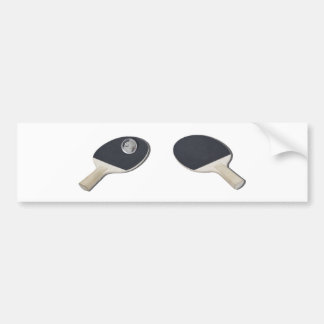 PingPongGlobe052711 Bumper Stickers