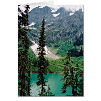 Pingston Lake, British Columbia Card