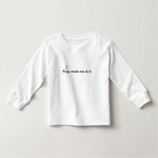 Pingu made me do it toddler T-Shirt