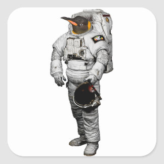 Pinguin Astronaut Sticker
