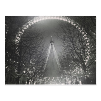 Pinhole London eye Postcard