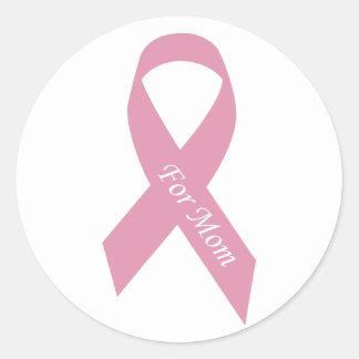pink_11 classic round sticker