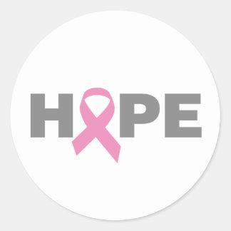 pink_18 classic round sticker