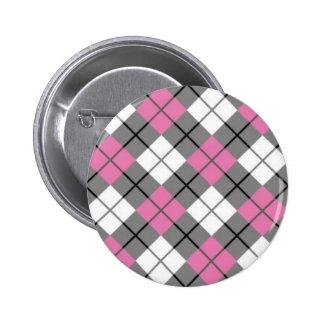 Pink 1950 ARGYLE BUTTON