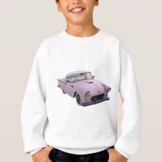 Pink 50's Sports Car Sweatshirt