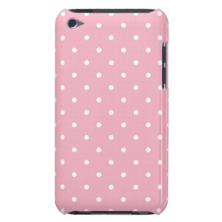 Pink 50s Style Polka-Dot iPod Touch G4 Case iPod Touch Case-Mate Case