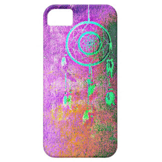 Pink Abstract Dreamcatcher case Case For The iPhone 5