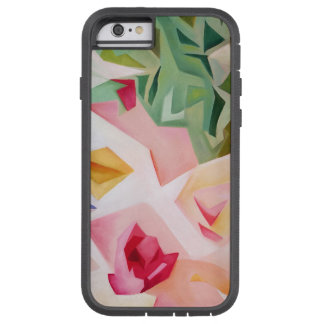 Pink Abstract Floral iPhone 6 Case