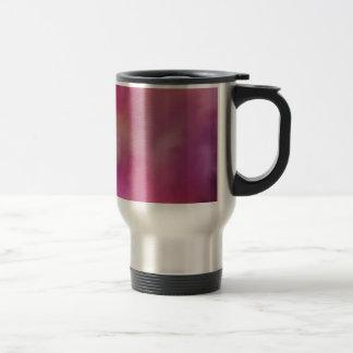 Pink abstract paint mix. mugs