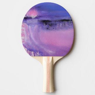Pink Abstract Ping Pong Paddles