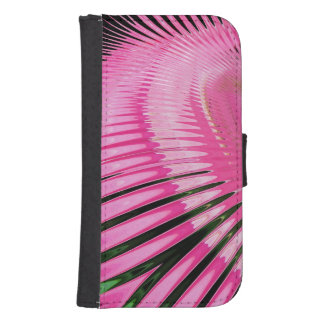 Pink Abstract Stairway ~ Phone wallet