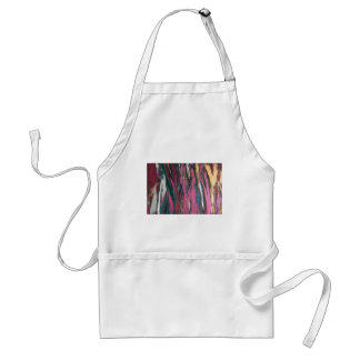 Pink Abstract Standard Apron
