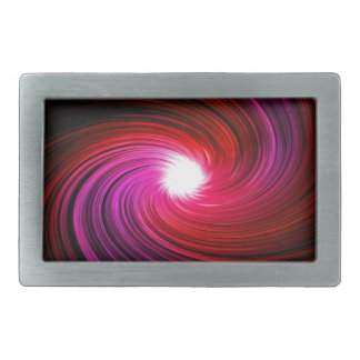 Pink abstract swirl. belt buckles