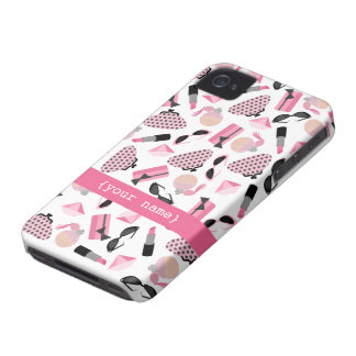 Pink Accessories iPhone 4 Case-Mate Barely There™