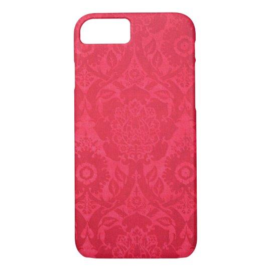 Pink Acorn William Morris Design iPhone 7 Case