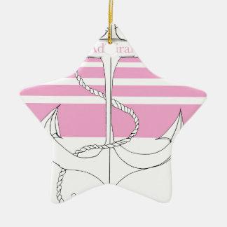 pink admiral, tony fernandes ceramic star decoration