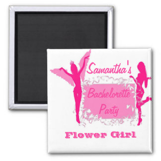 Pink adult bachelorette party magnet