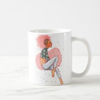Pink Afro Coffee Mug