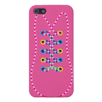 Pink All Laced Up iPhone 5 Case