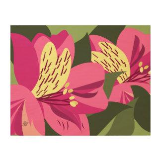 Pink Alstroemeria Art