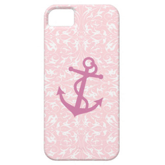 Pink Anchor iPhone 5 Case