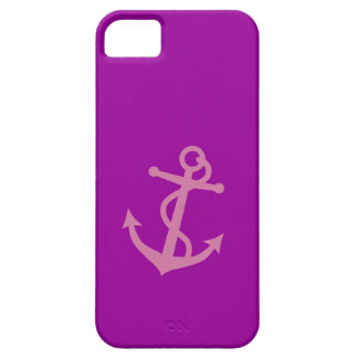 Pink Anchor iPhone 5 Cases
