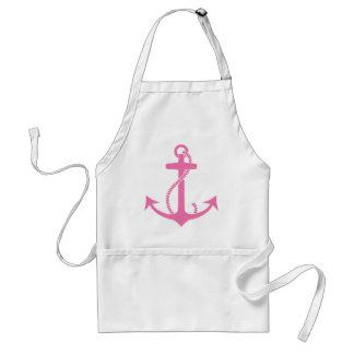 Pink Anchor Standard Apron