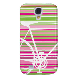 Pink and abstract Bicycle samsung galaxy Galaxy S4 Case