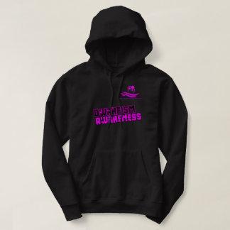 Pink and Black Dwarfism Hoodie LPOTW