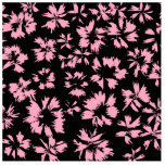 Pink and Black Floral Pattern. Photo Cut Outs