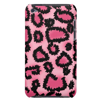 Pink and Black Leopard Print Pattern. iPod Touch Case-Mate Case