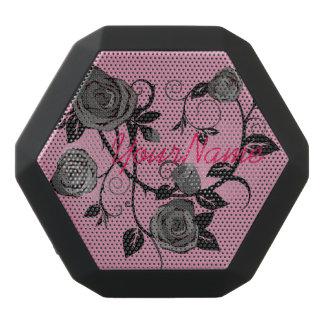 Pink and Black Roses Punk Goth Speaker