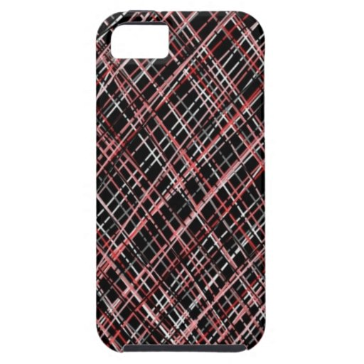 Pink and Black Tweed iPhone 5 Covers