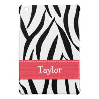 Pink and Black Zebra Print iPad Mini Covers